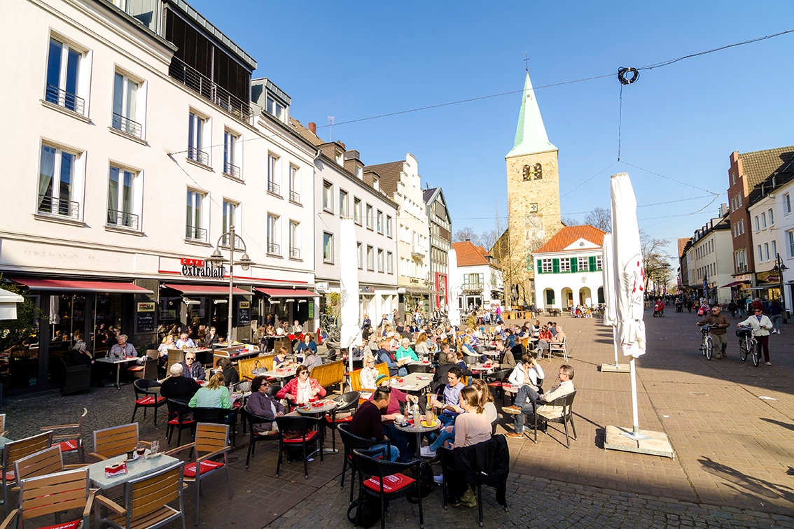Dorsten Cafe Extrablatt