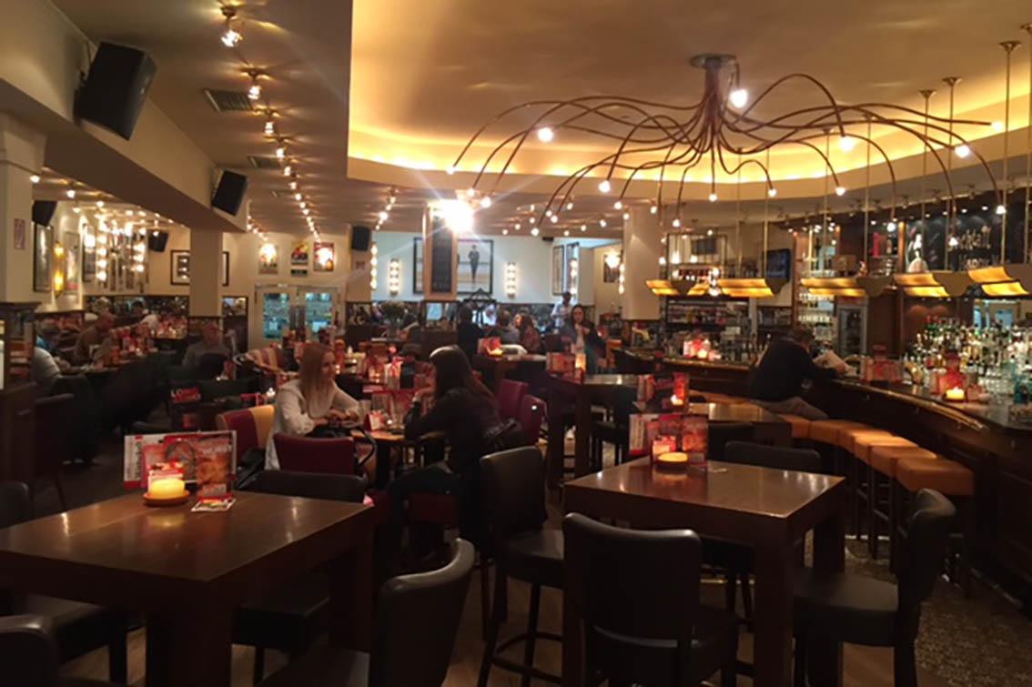 Kaiserlautern enkelt cafe